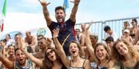(Italiano) 5 validi motivi, seri e divertenti, per scegliere il Beach Rugby di Lignano e le EBRA Series